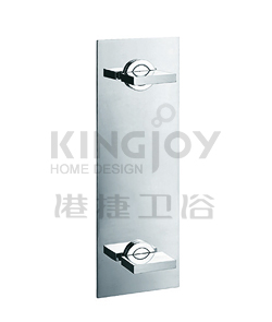 (KJ803V001) Two-handle wall shower mixer