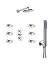 (KJ8088403) Concealed thermostatic bath/shower mixer