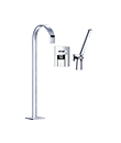 (KJ8067202) Single lever bath/shower mixer