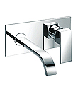 (KJ806V003) Single lever wall basin mixer