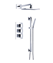 (KJ8068420) Wall thermostatic shower mixer