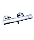 Wall thermostatic shower mixer