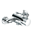 Wall thermostatic shower mixer with diverter